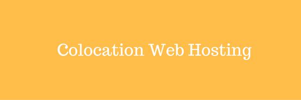 Colocation web hosting