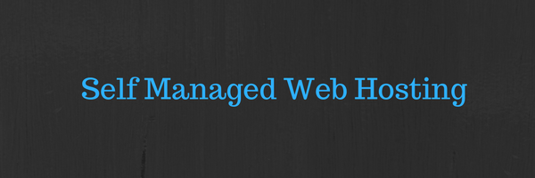 Self Managed Web Hosting