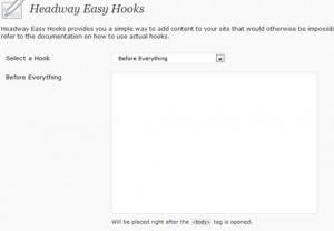 Headway Easy Hooks