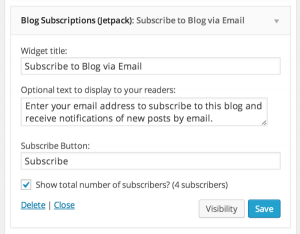 Jetpack Subscriptions