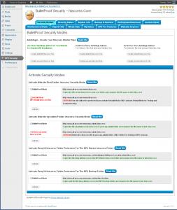 Bulletproof WordPress Plugin