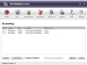 Spywarequake
