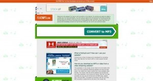 flv2mp3.com screenshot