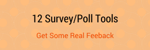 12 Survey Tools