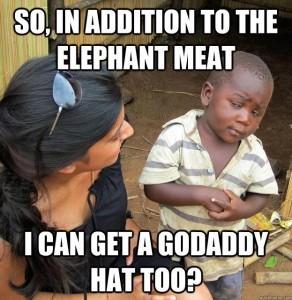 Funny GoDaddy Kid
