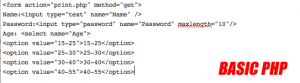 Basic PHP