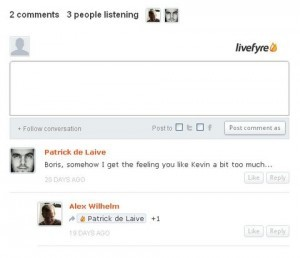 Livefyre Screenshot
