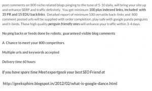 Blog Commenting Ad