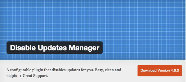 Disable Update Manager