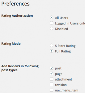 Reviewer Preferences
