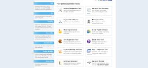 SEObook tools Screenshot