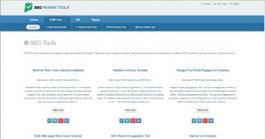 SEO Review Tools Screenshot