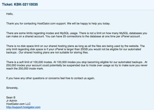 Hostgator Email