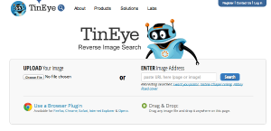 Tineye Screenshot