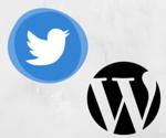 Twitter & WordPress
