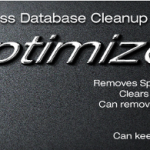 WP Optimize & Cleaning Up Your MySQL Database