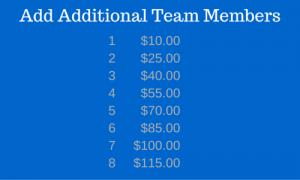 Additional Team Members