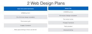 Homestead Web Design Plans
