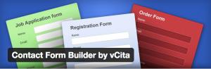 Wordpress contact form by vCita