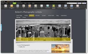 Sample GoDaddy Website Builder Site