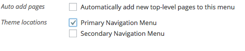Primary Navigation