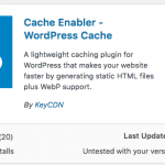 Cache Enabler – See How Good It Works?