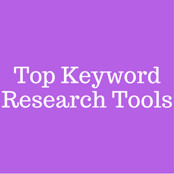 Top Keyword Research Tools
