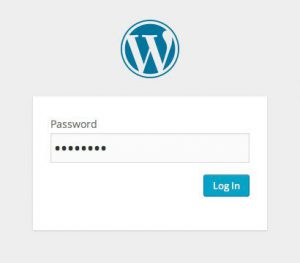 Password Protected WordPress