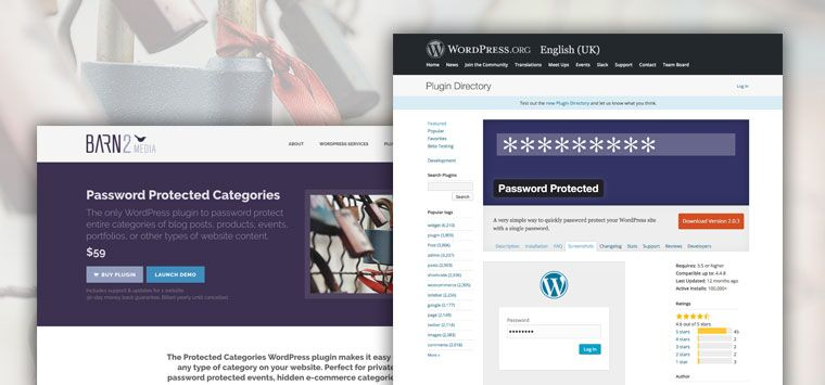 WordPress Private Blog
